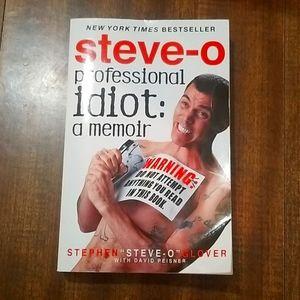 Professional Idiot - Steve-O (Book)